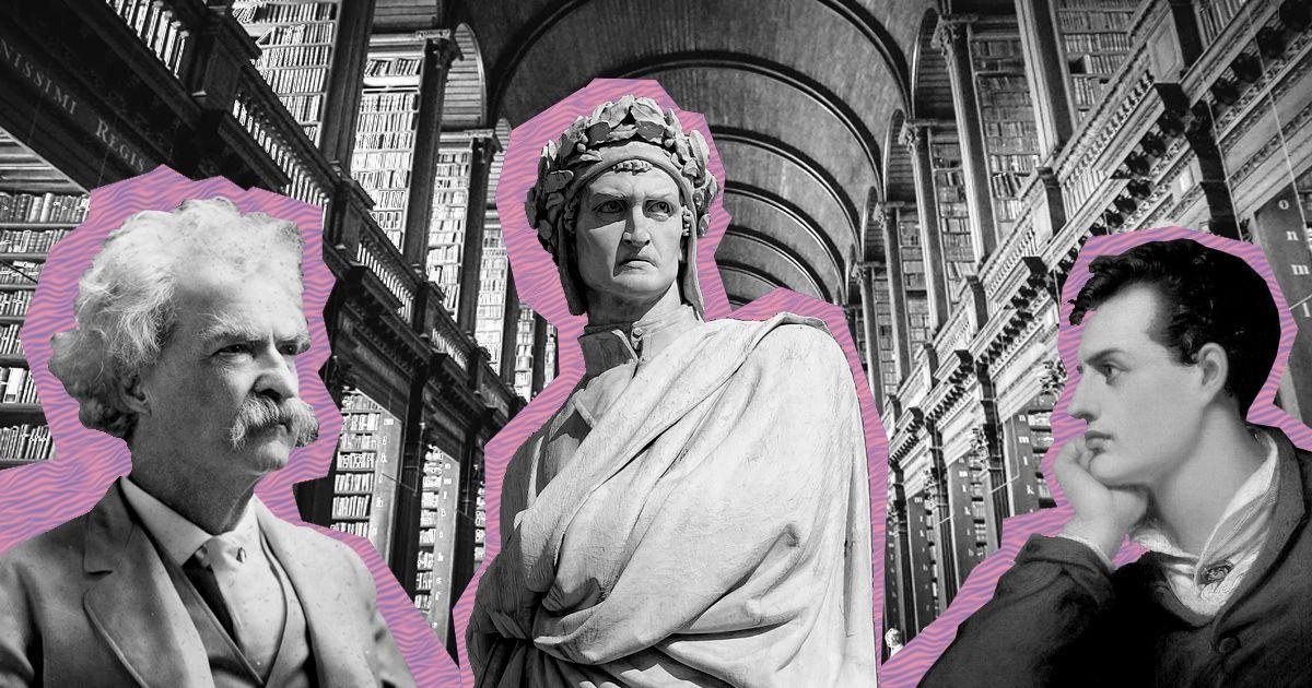 Байрон, Данте и Марк Твен: рассказываем про хорошие литературные корпуса