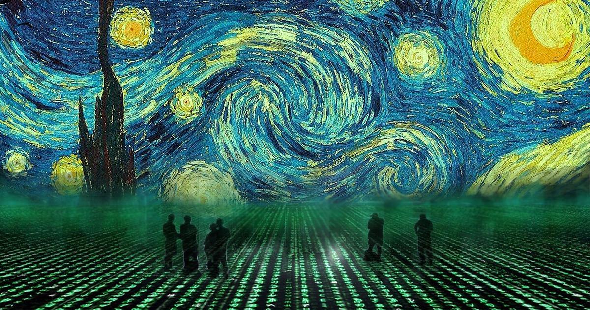 Цифровой Ван Гог: на грани вечности